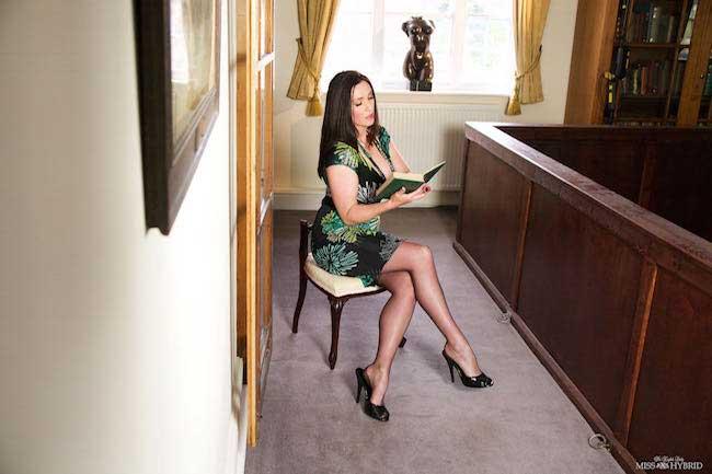 Miss Hybrid Erotica Stockings And Stilettos
