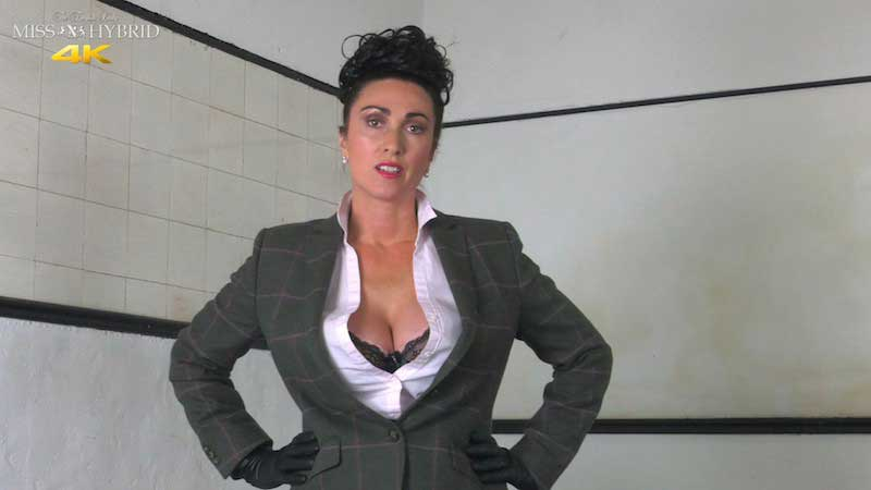 Miss Hybrid Strict Mistress In Thigh Boots