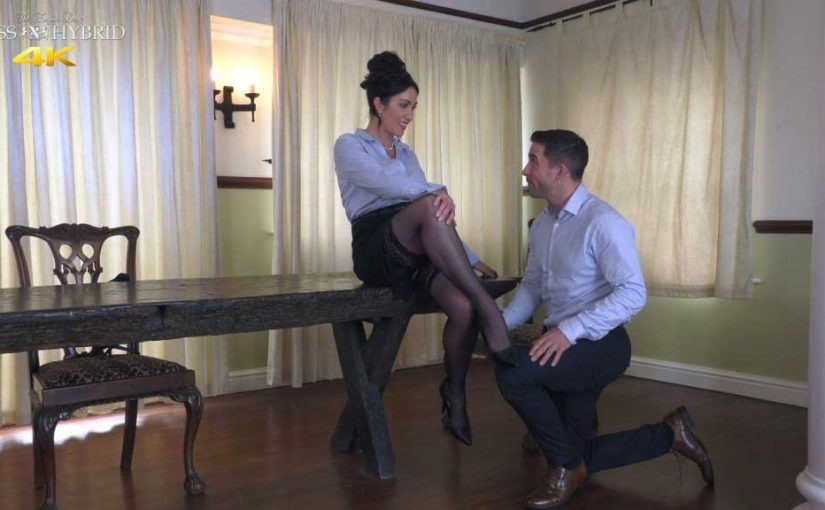 Miss Hybrid Nylons Personal Assistant